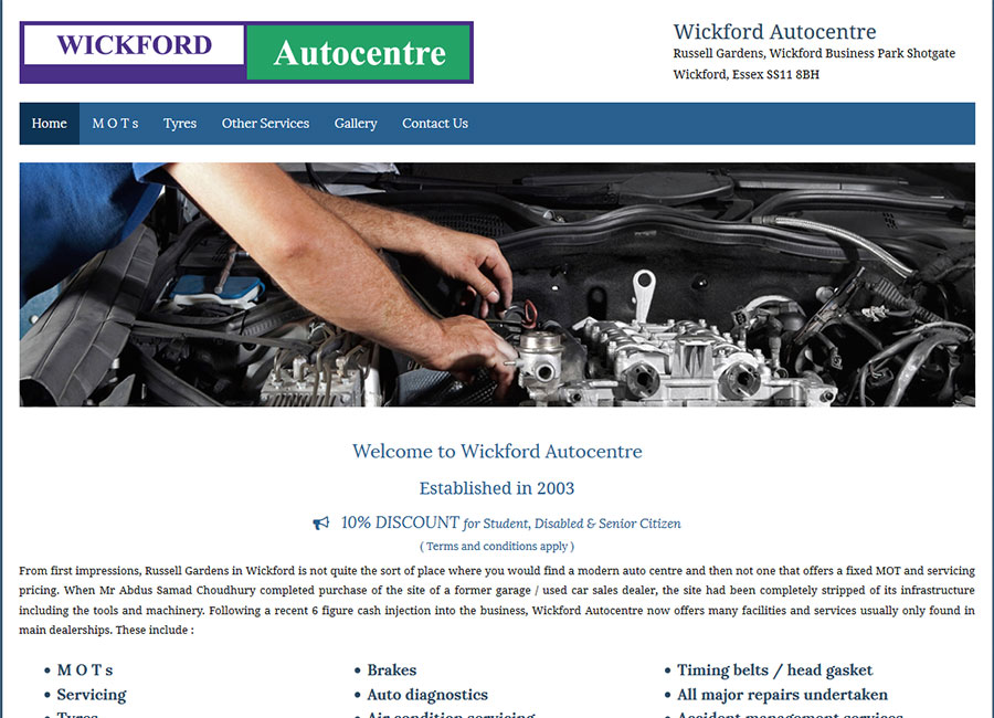 Wickford Auto Centre
